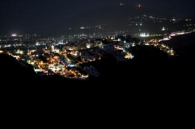 Santorin - Thira bei Nacht