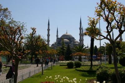 Blaue Moschee Sultan Ahmed in Istanbul