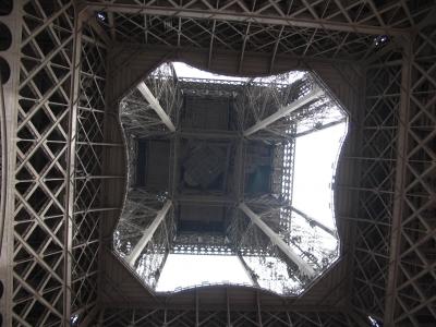 """Eiffelturm - Innenleben"""
