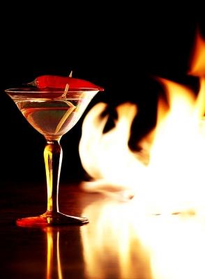 Scharfer Cocktail