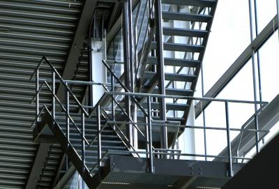 industrielle Treppengraphik