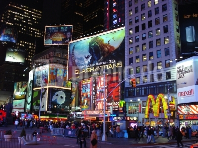 Times Square und Broadway in New York