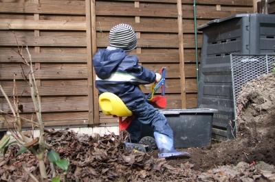 Endlich Frühling - die Gartenarbeit beginnt