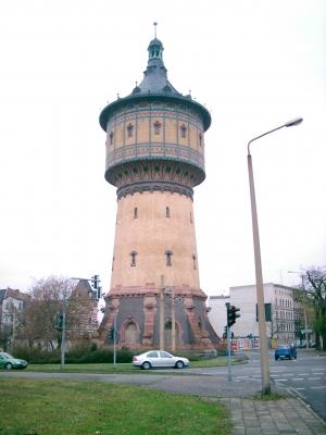 Wasserturm zu Halle/Saale