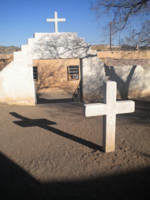 Kreuz in Laguna - New Mexico