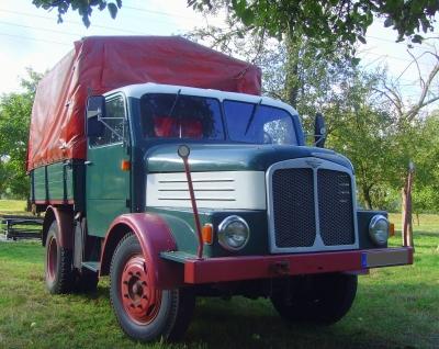 LKW Oldtimer aus den Fahrzeugwerken Werdau – Sachsen