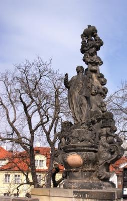 Statuen auf der Karlsbrücke 2
