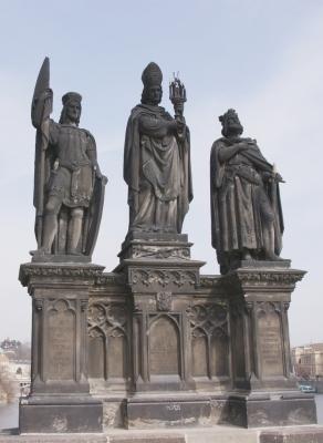 Statuen auf der Karlsbrücke 6