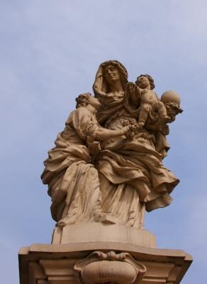 Statuen auf der Karlsbrücke 9