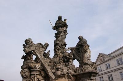 Statuen auf der Karlsbrücke 11