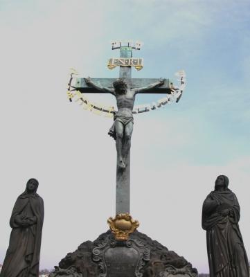 Statuen auf der Karlsbrücke 10