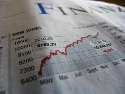 Finanzen mit Dow Jones