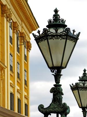 Wien-Schönbrunn, Parkseite Kandelaber 1