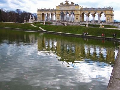 Wien-Schönbrunn, die Gloriette 4