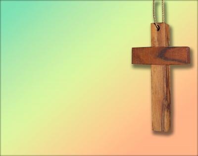 Holzkreuz (Text kann eingefügt werden)
