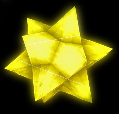 Stern leuchtend - Freestyle