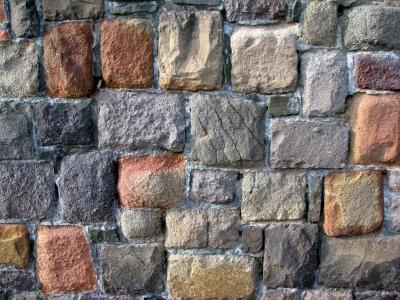 bunte Mauer