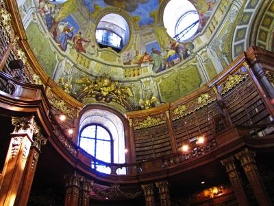 Wien - Nationalbibliothek, Prunksaal 4