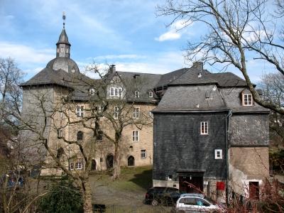 Siegen oberes Schloss Rückseite