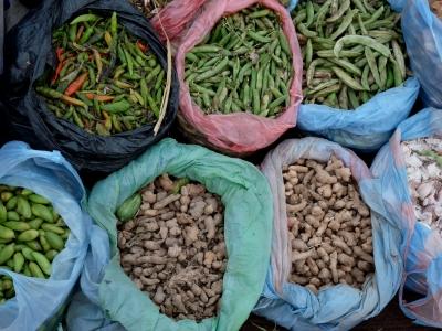 Gemüsemarkt (Nepal)