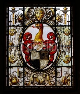Burg Altena an der Lenne, Wappen im Bleifenster #2