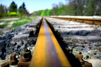 Schiene nach Wörlitz