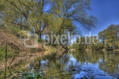 Mulde - Fluss in Mitteldeutschland
