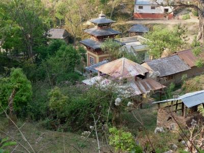 Kleiner Dorftempel (Nepal)