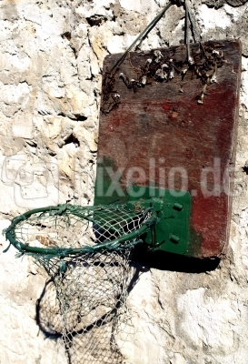 alter basketballkorb