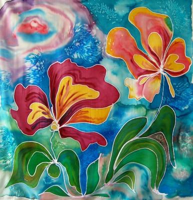 Blütentraum in Seide