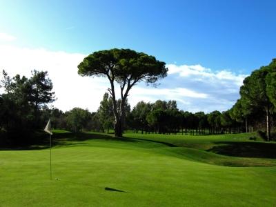Golf in Belek, Pascha-Course, Gruen 4