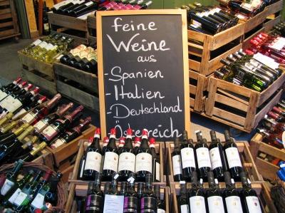Viktualienmarkt München: Feine Weine