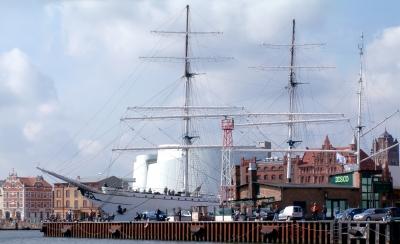 Stadthafen Stralsund im Mai 2010 (1)
