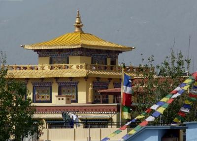 Kleiner Tempel (Bodnath, Nepal)