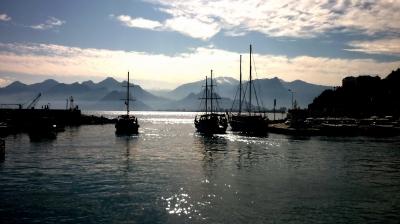 Hafen von Antalya/Türkei