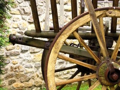 Leiterwagen vom Bauernhof