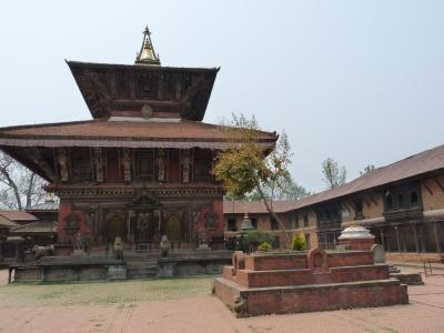 Tempel von Changunarayan (Nepal) 1