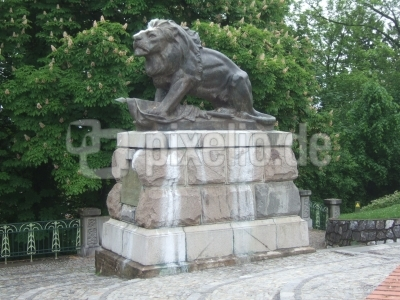Hackher-Löwe auf dem Burgberg Graz