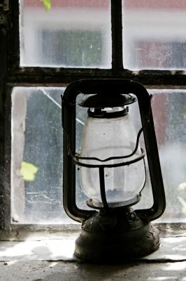 Alte Öllampe