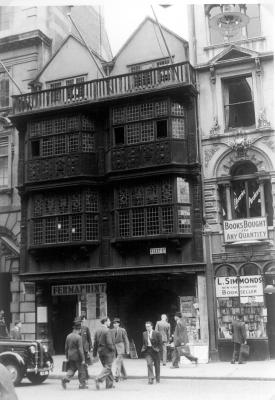 London Fleet Street 1957