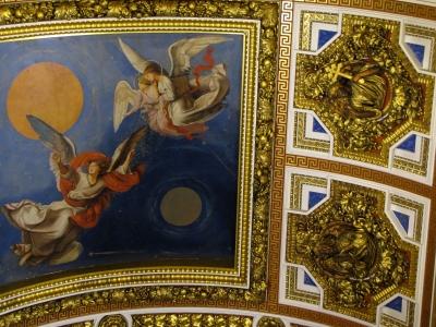 Deckengemälde der Isaak-Kathedrale (St.Petersburg)