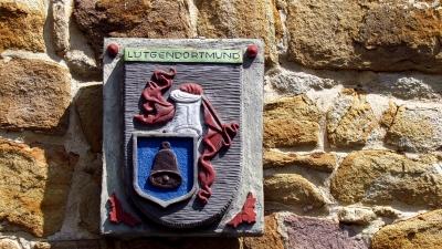 Wasserschloss Haus Dellwig zu Dortmund, Wappen Lütgendortmund