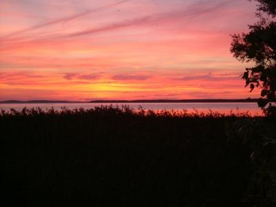 Sundown in Polchow auf Rügen