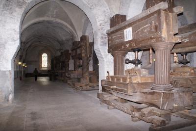 Weinkelter im Kloster Eberbach