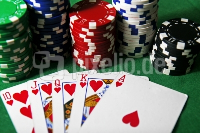 Royal Flush beim Poker