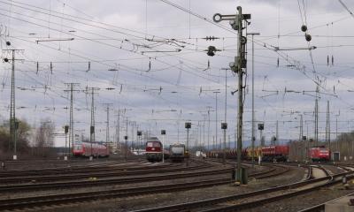 Rangierbahnhof ...