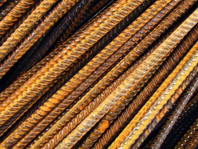 Baustellen-Stahlstäbe