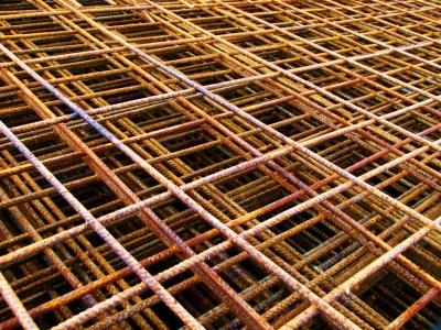 Stahlmatten für die Baustelle