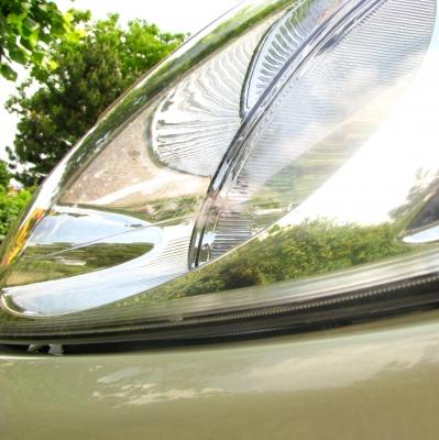 Autoscheinwerfer inkl. Spiegelung