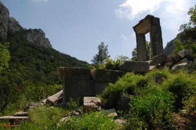 Hadrians Tor und Artemistempel Termessos